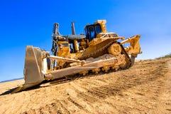 Bulldozer di estrazione mineraria Fotografia Stock