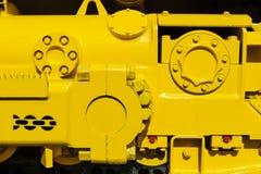 Bulldozer drive gear Stock Photo