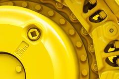 Bulldozer drive gear Stock Photos