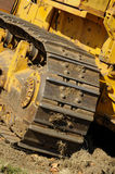 Bulldozer Equipment. Bulldozer caterpiller equipment moving Royalty Free Stock Photography