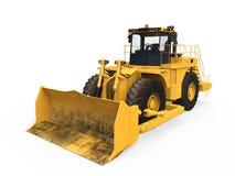 Bulldozer giallo  Fotografia Stock Libera da Diritti