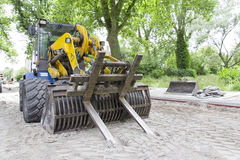 Bulldozer, Heavy Machine Royalty Free Stock Photos
