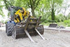 Bulldozer, Heavy Machine royalty free stock photos