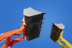 Bulldozer isolated Royalty Free Stock Image