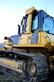 Bulldozer isolated Royalty Free Stock Image