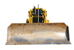 Bulldozer isolated Royalty Free Stock Photos