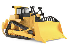 Bulldozer isolated Stock Image