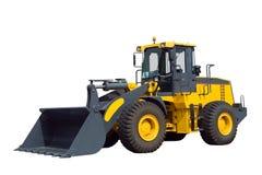 Bulldozer, isolated on white Royalty Free Stock Images