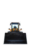 Bulldozer isolated on white Royalty Free Stock Image