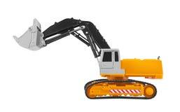 Bulldozer isolated on white Royalty Free Stock Image