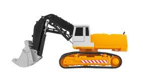 Bulldozer isolated on white Stock Image