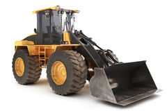 Bulldozer loader excavator Royalty Free Stock Photo