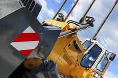 Bulldozer met lepel royalty-vrije stock foto's