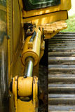 Bulldozer-Neigungs-Zylinder Lizenzfreies Stockbild