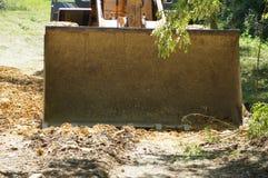 Bulldozer nell'azione Fotografia Stock