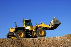 Bulldozer op het Werk Royalty-vrije Stock Foto's