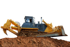 Bulldozer with ripper Royalty Free Stock Photography