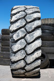 Bulldozer tire Royalty Free Stock Images