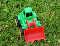 Bulldozer Toy Royalty Free Stock Photography