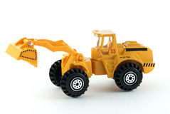 Bulldozer toy Stock Images