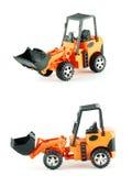 Bulldozer toy Royalty Free Stock Images