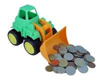 Bulldozer toy Stock Photography