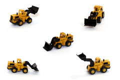 Bulldozer toys Royalty Free Stock Photos
