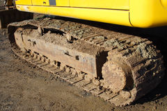 Bulldozer Track Royalty Free Stock Image