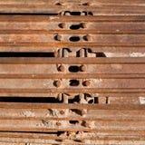 Bulldozer Track Detail Stock Photography