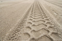 Bulldozer Tracks Royalty Free Stock Images