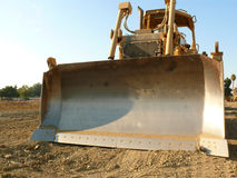 Bulldozer tractor detail. A detail of a bulldozer tractor.  Earth moving equipment Stock Photography