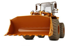 Bulldozer on wheels Royalty Free Stock Photography