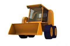 Bulldozer on wheels Royalty Free Stock Images