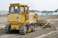 Bulldozer  at work Royalty Free Stock Image