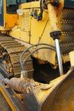 Bulldozer at work Stock Images