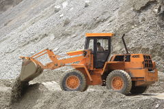Bulldozer Working-2. royalty free stock images
