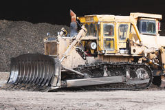 Bulldozer working Royalty Free Stock Photography