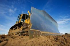 bulldozer yellow Стоковые Фото