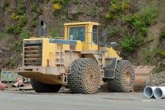 bulldozergropsten Royaltyfri Fotografi