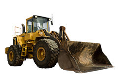 bulldozerkonstruktion arkivfoton