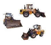 Bulldozers Stock Images