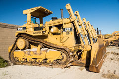Bulldozers-Work Wanted Stock Photos
