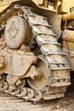 bulldozerspår Fotografering för Bildbyråer