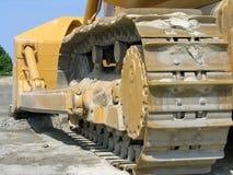 bulldozerspår Arkivbild