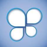 Bulle abstraite de conception web, vecteur Photo stock