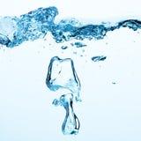 Bulle de l'eau Images stock