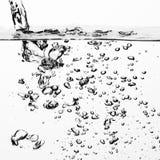 Bulle de l'eau Photographie stock libre de droits