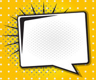 Bulle de la parole de bande dessinée, bande dessinée d'art de bruit illustration de vecteur