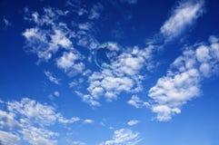 Bulle de savon et le ciel Images libres de droits