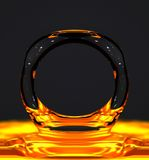 Bulle liquide image libre de droits